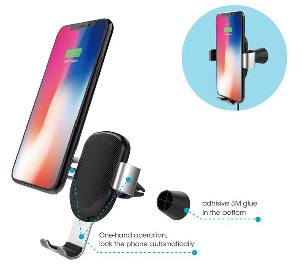 Reviewed: Tech Armor Wireless Car Charger, Air Vent Car Mount