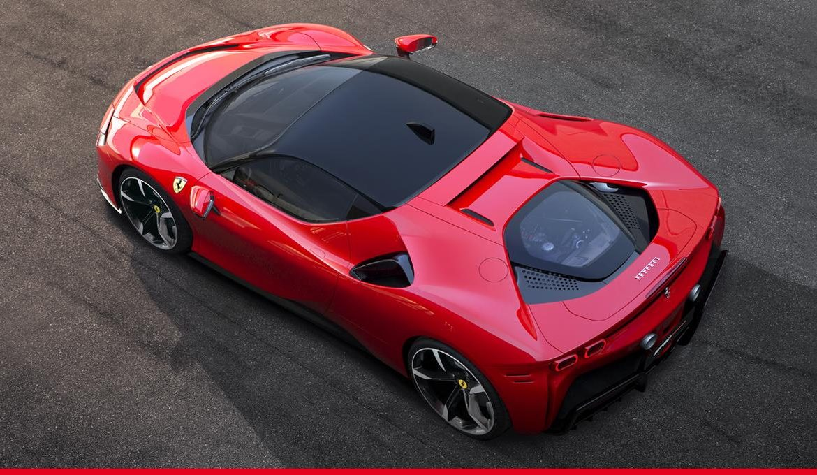 Ferrari SF90 Stradale Hybrid Hypercar no Match for Tesla