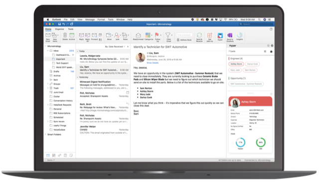 MicroStrategy 2019 adds Federated Analytics and HyperIntelligence for Future of Work