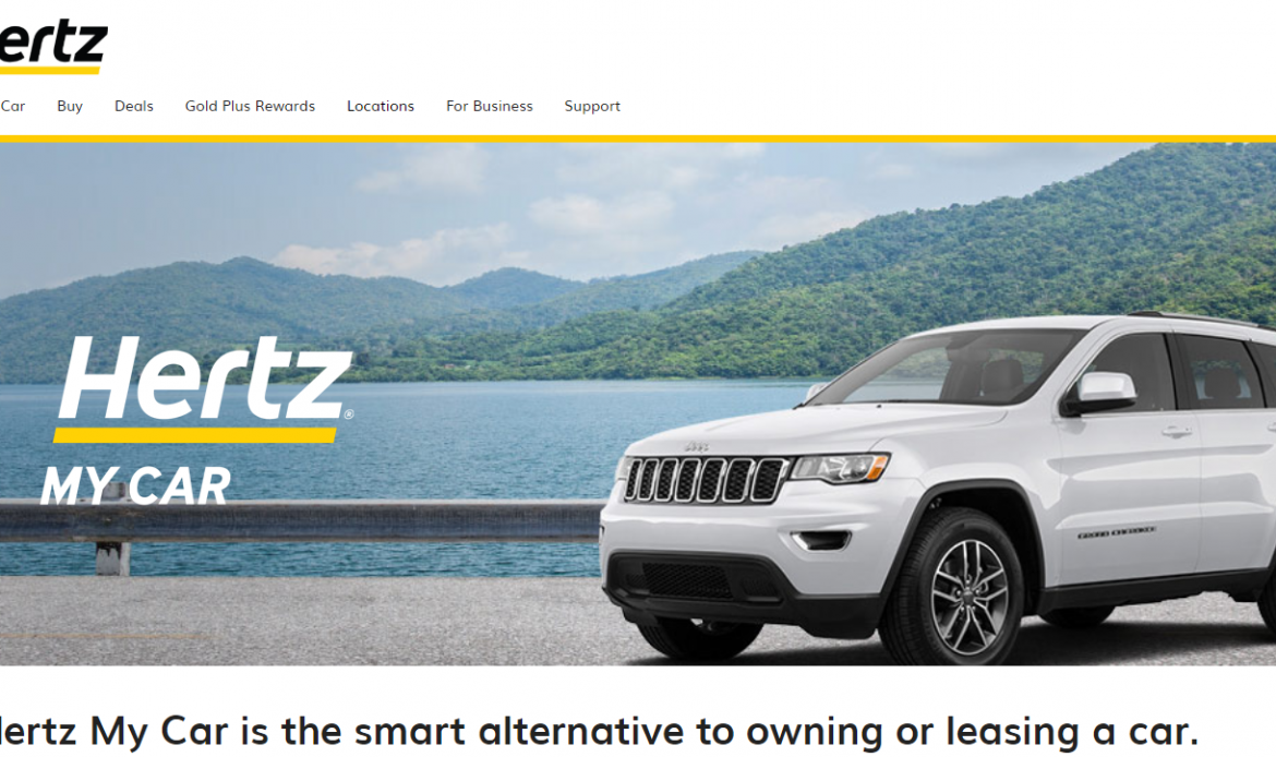 Subscriptions: The Digital Transformation at Hertz