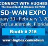 Hughes Now Number 2 U.S. Carrier Managed SD-WAN Provider