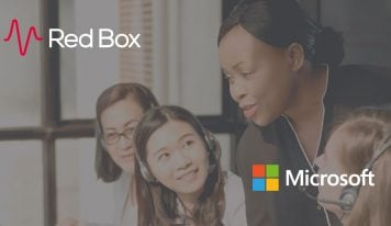 Red Box, a Microsoft Preferred Telephony Partner to Capture Voice Data
