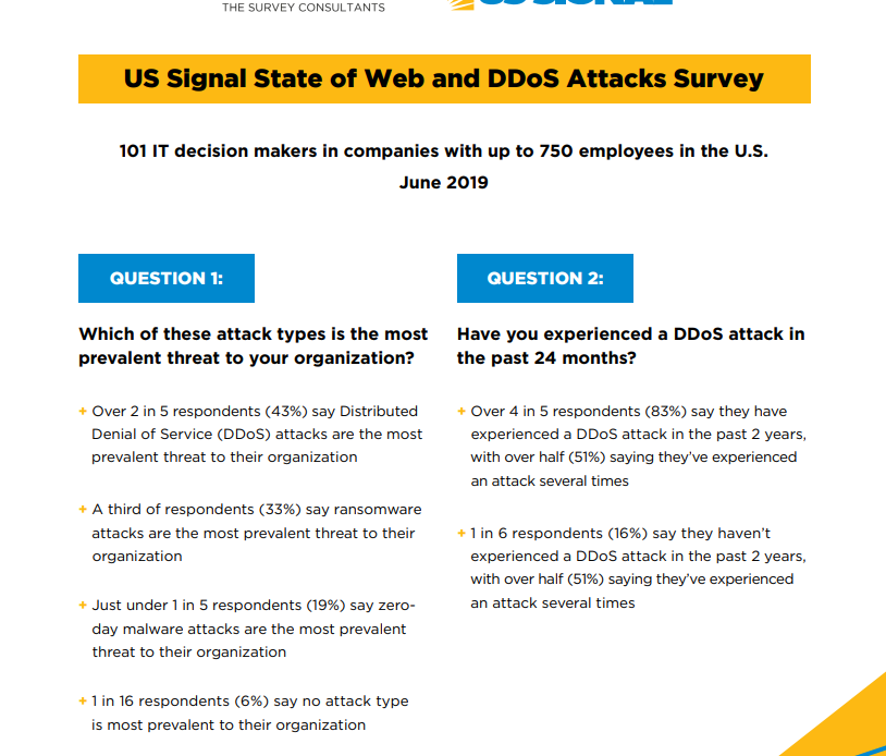 US Signal Launches Managed Website and Application Security Solution