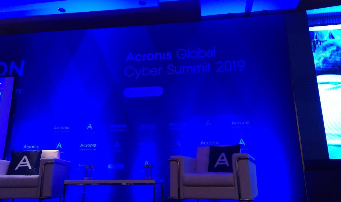 Acronis Cyber Summit 2019 Live Blog