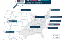 Coastal U.S. Has Fastest Internet – Flyover Country, the Slowest
