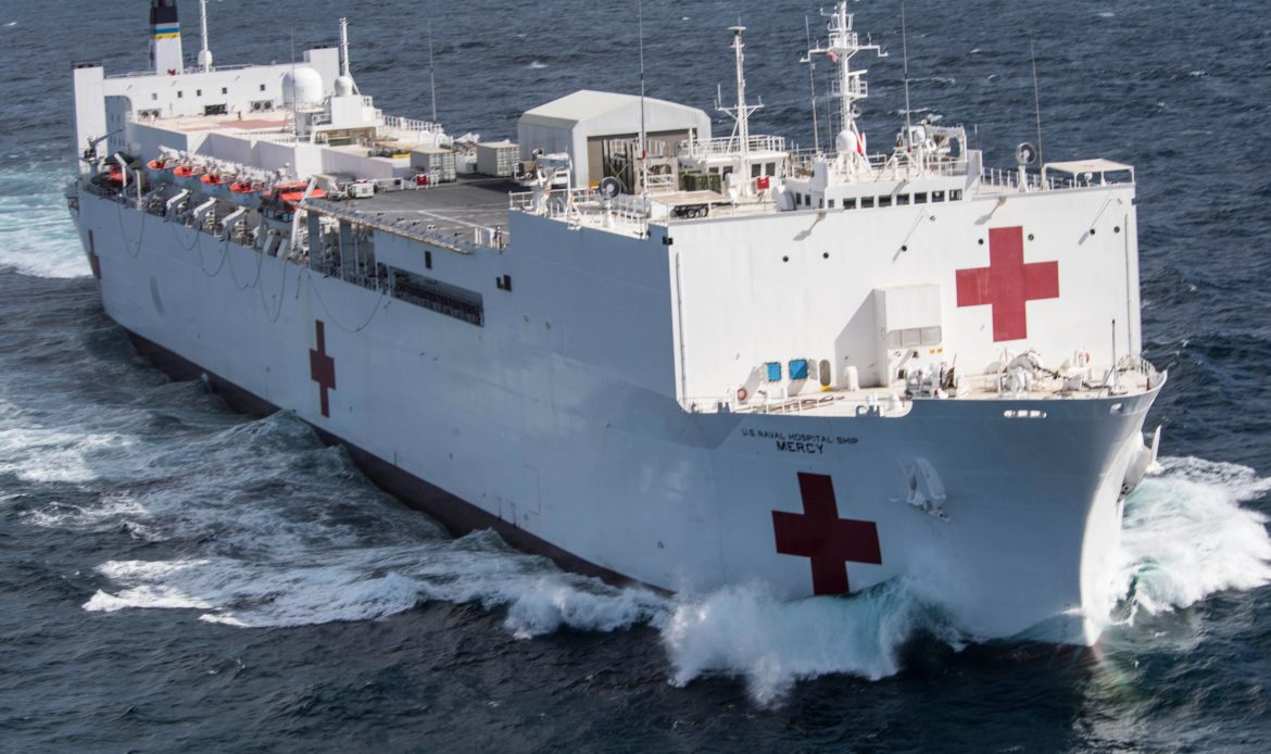 CenturyLink Donates and Installs High-Speed Connectivity to Hospital Ship USNS Mercy Amid COVID-19 crisis