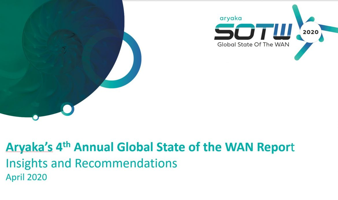 Aryaka's State of the WAN Report Reveals  Performance and Complexity as Top Issues