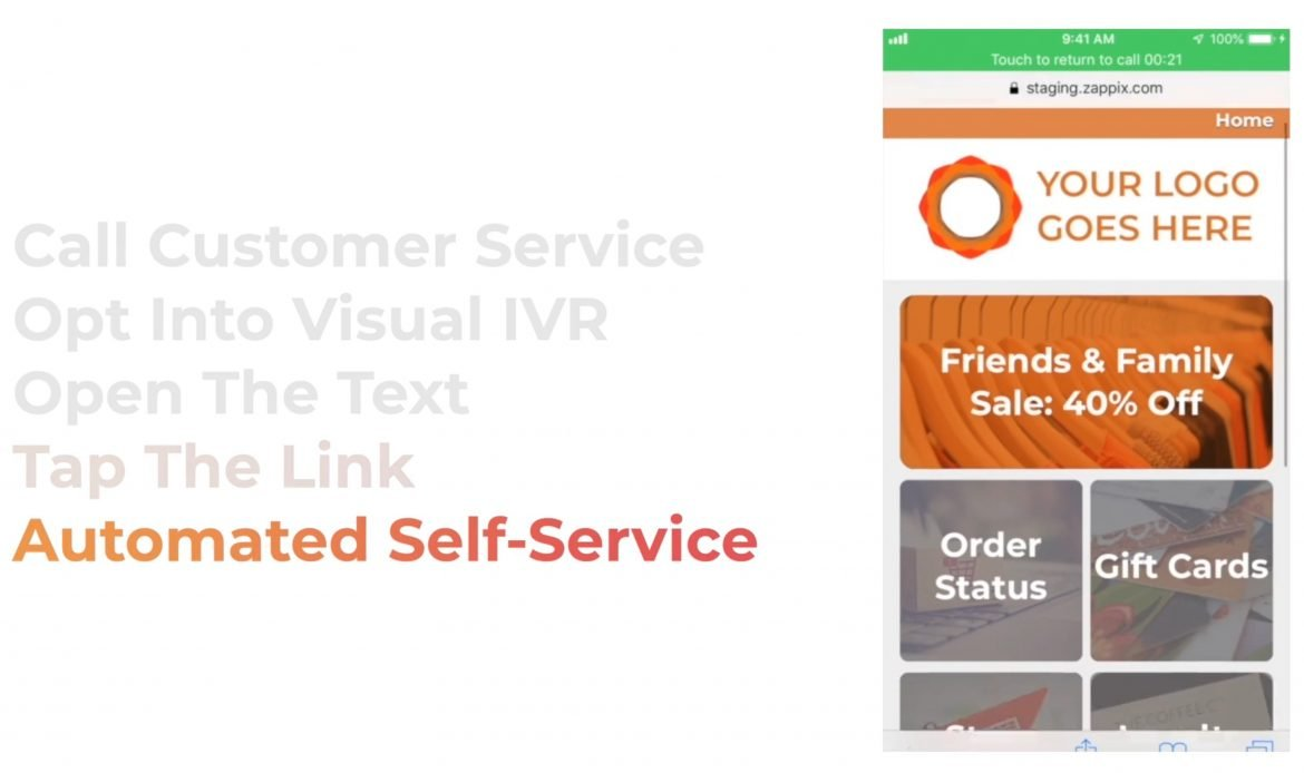Zappix Launches Visual IVR Customer Self-Service Solution For Another Retail Customer