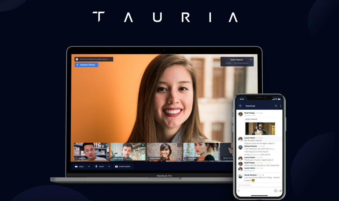 Tauria Launches Fully Encrypted Conferencing Solution