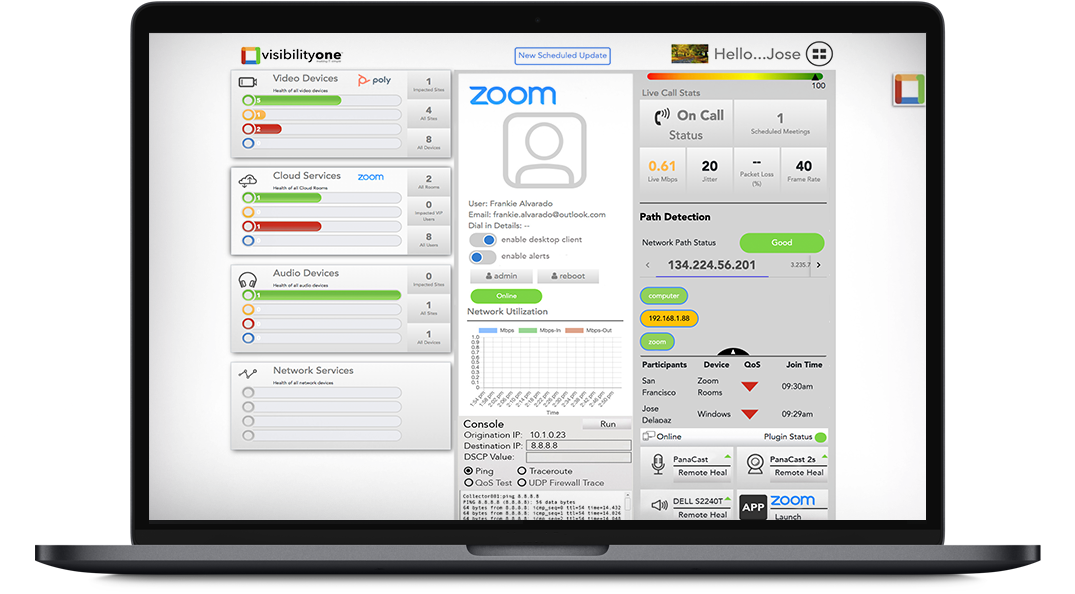 Visibility One Helps Solve Zoom Desktop User Experience Issues