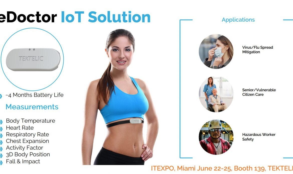 TEKTELIC eDoctor IoT Solution – See it at IoT Evolution Expo This Week in Miami!