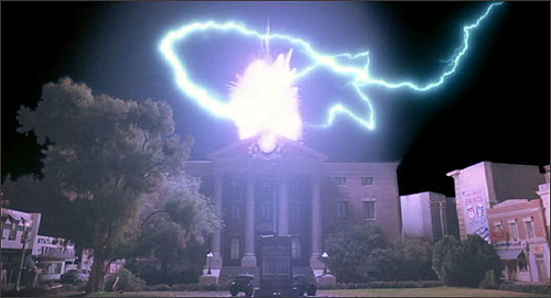 back to the future courthouse
