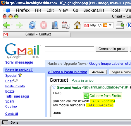 Abbeylabs Firefox VoIP Extension
