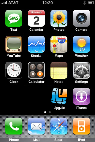 sipgate iPhone VoIP